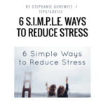 Want to Reduce Stress?